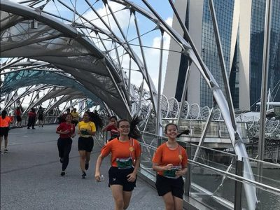 EVG Road Run @ Marina Bay